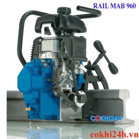 máy khoan ray chạy xăng railmab 960