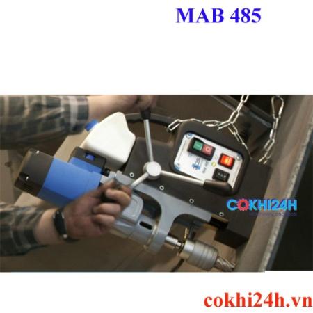ứng dụng máy khoan từ MAB 485