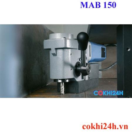Ứng dụng máy khoan từ MAB 150