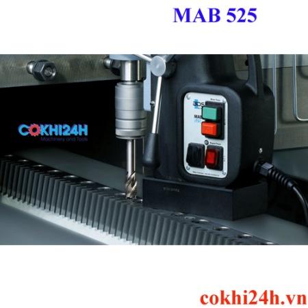 Ứng dụng máy khoan từ MAb 525