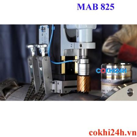 Ứng dụng máy khoan từ MAb 825